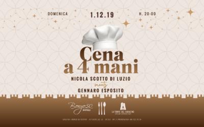 Cena a 4 mani con Gennaro Esposito